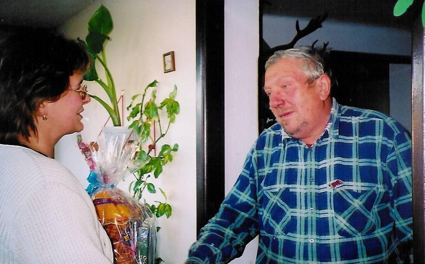 Významná výročí Svoboda Josef - Olešná, 12.10.2003 - 60 let.jpg