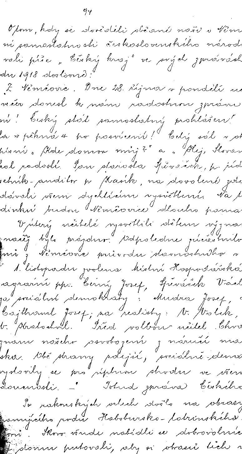 Ukázka zápisu v kronice obce Němčovice.jpg